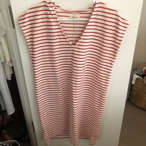 Madewell Red Stripe Dress